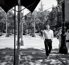 Marc Jacobs in New York's West Village, where he lives and where he has built a mini-empire. (Photo: Jason Schmidt)