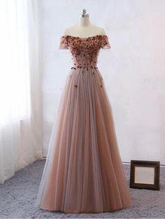 Prom Dress Custom Evening Dresses, Prom Dresses, Lace Prom Dress, A-Line Prom Dress Prom Dresses 2019 Pretty Prom Dresses, A Line Prom Dresses, Dance Dresses, Ball Dresses, Formal Dresses, Dress Prom, Elegant Dresses, Lace Dress, Sexy Dresses