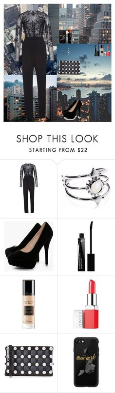 """""""Сity Chic🏢"""" by oksana-kolesnyk ❤ liked on Polyvore featuring Zuhair Murad, Agnes de Verneuil, Boohoo, Givenchy, Guerlain, Clinique, Alexander Wang, Casetify and Salvatore Ferragamo"""
