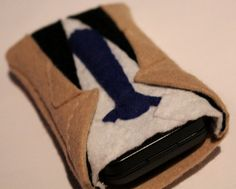 Supernatural Castiel Phone Sleeve made to measure by fabricateshop, $23.00