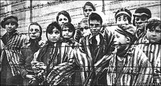 """Hitler desired to exterminate the Jewish people from the face of the world, he used concentration camps or """"death camps"""" to do so. The concentration camp """"Auschwitz"""" in Poland is portrayed here."""