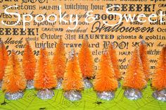 Hey, I found this really awesome Etsy listing at https://www.etsy.com/listing/205350384/halloween-12-orange-bottle-brush-trees