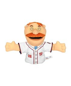 Take a look at this Washington Nationals Teddy Roosevelt Hand Puppet on zulily today!