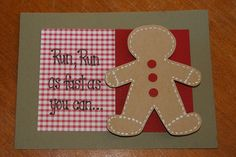 Gingerbread Theme Birthday Party could use for pin the buttons on the gingerbread man
