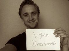 SQUEEEEEE! NO. NO WAY. I know this isn't real but Dramione is my OTP and this makes me so happy anyway. SQUEE!!