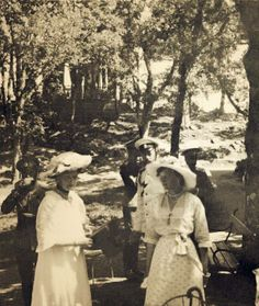 Tsar Nicholas II, Empress Alexandra and Grand Duchess Tatiana