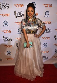 Yes, you can rock a grown and sexy tutu if you want. Ava says so. | 15 Reasons Ava DuVernay Is Your New Fashion Icon