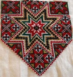 Bilderesultat for hardangerbunad Hardanger Embroidery, Cross Stitch Embroidery, Hand Embroidery, Peyote Patterns, Sewing Patterns, Star Patterns, Small Sewing Projects, Sewing Crafts, Cross Stitch Charts