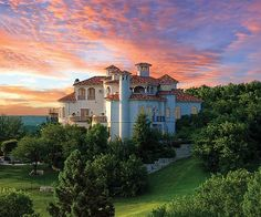 Tuscan Villa in Mira Vista, Fort Worth. Can i have this? Every princess needs a castle right? :)