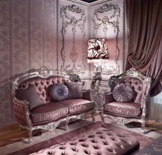 Carving Silver Italian Style Bedroom - Top and Best Italian Classic Furniture