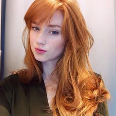mooi rood is niet lelijk ♥ Red hair - Alina Kovalenko