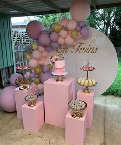 Obsessed with this birthday set up 🎉💛🙌🏽 theeventcollectivex events eventspace eventstyling eventplanning birthdaystyling balloons… Shower Party, Baby Shower Parties, Baby Shower Themes, Baby Shower Decorations, Shower Ideas, Baby Birthday, 1st Birthday Parties, Birthday Party Decorations, Tea Parties