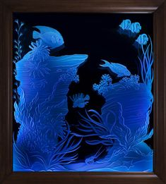 Etched Glass & Stained Glass LED Lighting  Whether it's the door, window, or focal point of any room, home, or business add a unique accent to your etched glass or stained glass pieces with our aluminum frames & LEDs!  SuperBrightLEDs.com