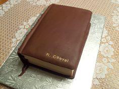 Holy Bible Cake.