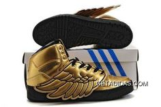 5c4c66f30d057 Hyper Sport Shoes Gold Amazing Adidas Jeremy Scott Wings TopDeals