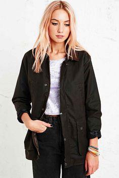 Vintage Renewal Wax Jacket in Brown