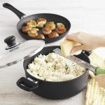Scanpan® 3-qt. All-In-One-Pan with Free Skillet Item #: 1453315 $159.96