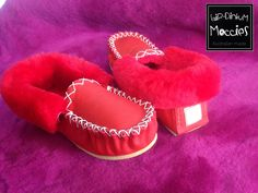 Leather moccasins  Made by Antonio Ciardulli