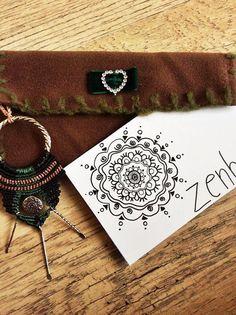 bohemian necklace tribal necklace boho chic necklace by zenboho
