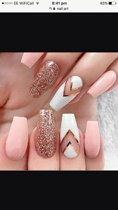Amazingly done nails