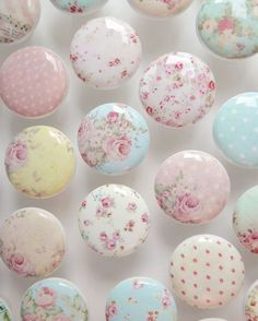 """Items similar to Shabby Drawer Knobs - Huge Assortment- Cottage Chic Knobs, Pretty Floral Drawer Pull, Pink Flowers- 1 Inches on Etsy - Receive wonderful recommendations on """"shabby chic furniture bedroom"""". They are actually accessi - Cottage Shabby Chic, Shabby Chic Mode, Cocina Shabby Chic, Shabby Chic Vintage, Shabby Chic Stil, Shabby Chic Interiors, Shabby Chic Pink, Shabby Chic Bedrooms, Shabby Chic Kitchen"""
