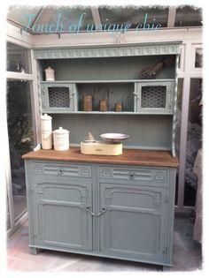 beautiful welsh dresser Annie sloan duck egg blue