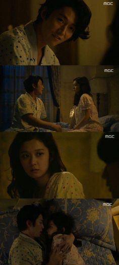 """Fated To Love You"" his back hurts and she´s pregnant o they might as well share bed. Best Dramas, Korean Dramas, Korean Actors, Japanese Guys, Japanese Drama, Drama Tv Shows, Drama Series, Jung Ryeo Won, The King 2 Hearts"