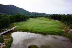 Hole 12 Lang Co, Golf Clubs, Golf Courses, Tropical, Landscape, Beach, Nature, Group, Design