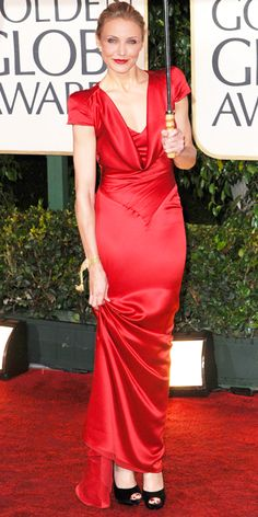 Cameron Diaz's 10 Best Red Carpet Looks Ever - Alexander McQueen, 2010 from #InStyle