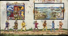 Albrecht Altdorfer (c. 1480 -1538), Hans Burgkmair (1473-1531), Albrecht Dürer (1471-1528) & others — Triumphal Procession, 1517 (1440x760)