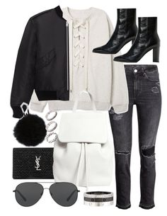 """Untitled #20219"" by florencia95 ❤ liked on Polyvore featuring Yves Saint Laurent, Mansur Gavriel, Michael Kors, Cartier and ASOS"