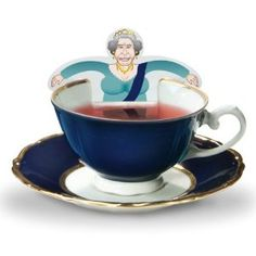Wedding gift:RoyalTea Royalty Tea Bags Gift Set with the Royal Wedding Family Figures, Prince William, Charles, Queen
