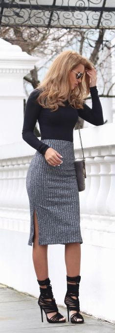 Ribbed / Fashion By Nada Adelle