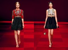 For Spring Summer 2015, Dolce&Gabbana have transformed the devotional icon of the sacred heart into the motif of the collection.  #DGGOLDENHEART  www.dolcegabbana.com #renaissance feeling