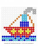 Thema-Feesten-Sinterklaas-Kralenplank ~ Juf Milou Pearler Bead Patterns, Pearler Beads, Saint Nicolas, What To Make, Creative Activities, Too Cool For School, Tissue Boxes, Beading Patterns, Cool Kids