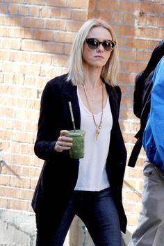 Naomi Watts - Filming Netflix Series 'Gypsy' in New York