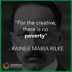 Rainer Maria Rilke, was a Bohemian-Austrian poet. He is considered one of the most significant poets in the German language.   Read one of his poems here: http://www.poemhunter.com/poem/a-walk/