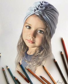 Realistic Pencil Drawings, Hyper Realistic Paintings, Pencil Art Drawings, Realistic Sketch, Pencil Sketching, Drawing Faces, Colored Pencil Artwork, Color Pencil Art, Colored Pencils