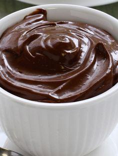 Sund chokolademousse   femina 100 Calories, Fritters, Cookie Dough, Tart, Icing, Gluten, Keto, Pudding, Vegan