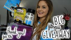 Fitness Goodies GIVEAWAY | Thank You For 10k!