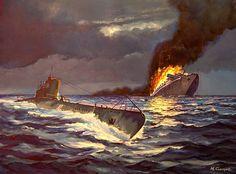 Soviet submarine S-13 sinks German hospital ship Wilhelm Gustloff