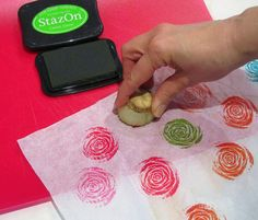 Quick and Easy Vegetable Printing!