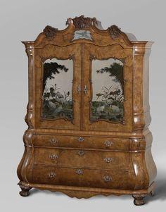Spiegelkabinet, toegeschreven aan Dirk Froger, ca. 1764