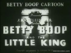 Betty Boop and the Little King - 1936