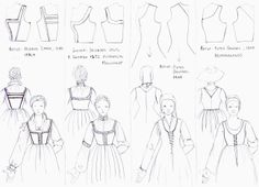 My SCA Garb: 1550s German Dress Diary- Kirtle / underdress