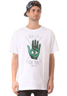 #planetsports LIGHT - Talk Less S/S T-Shirt white