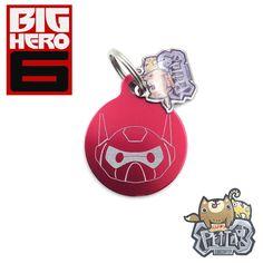 Happy Pet Tag  Big Hero 6 helmet Dogs Cats Pets ID Tags