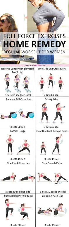 Repin and share if this home workout transformed your body! Read the post for all the workout information!