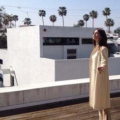 Zoe in #MercantileVintage Tailored Wool Coat #TheMercantile #LA  available online at the mercantileonlinestore.com