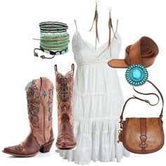 LOVE the cowboy boots!!! style
